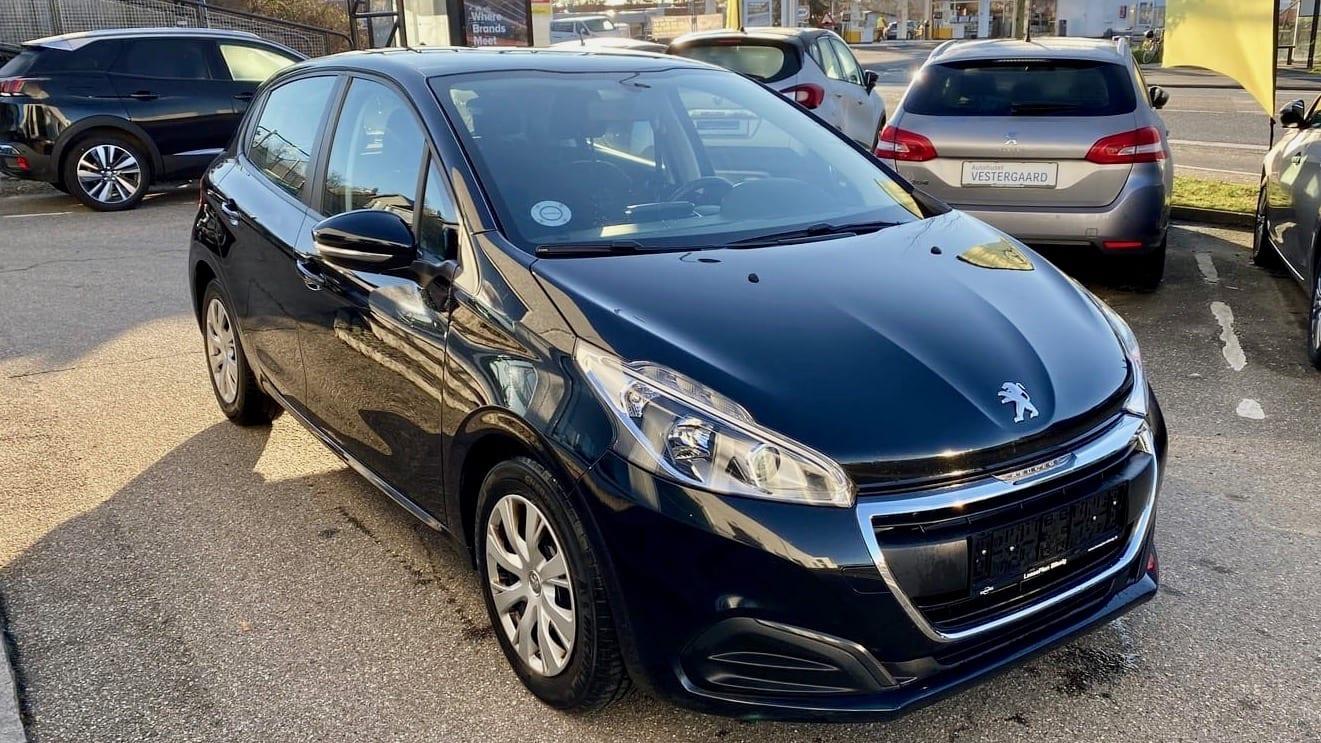 2016-Peugeot-208 - Bilvurdering nummerplade