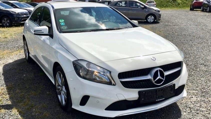 2017 Mercedes A klasse Bilvurdering